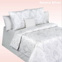 "Постельное белье Cotton Dreams. Дизайн ""Amara Silver"""